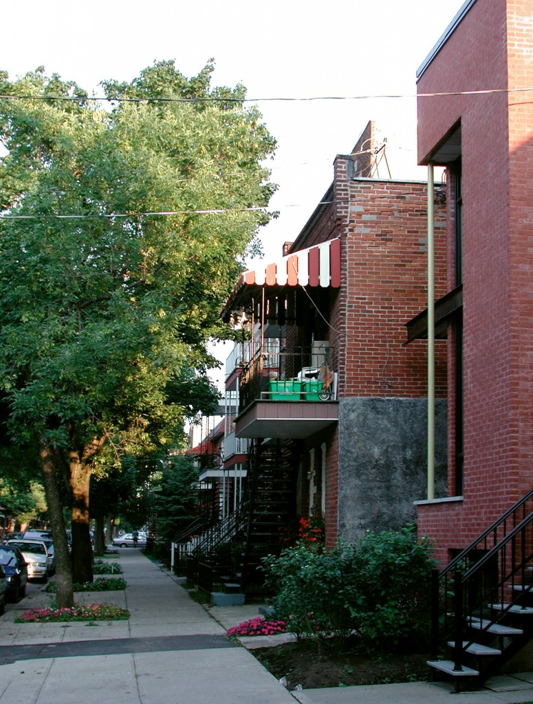 façade et voisins